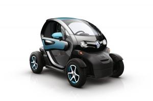 —Tävlingsbilarna, Renault Twizy, kommer från Renault och Liljas bil. Alla kör samma.