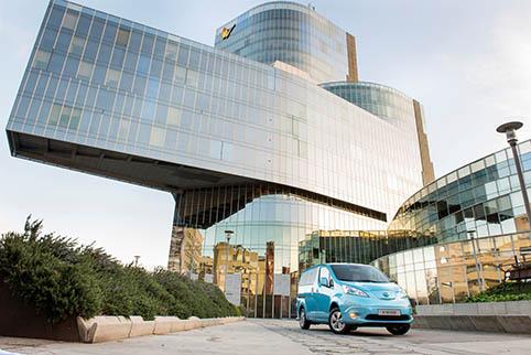 Senaste tillskottet i Taxi Electrics flotta är e-NV200.