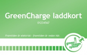 GreenCharge laddkort