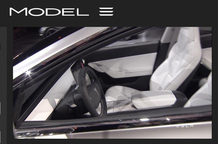 Model 3 interiör 2
