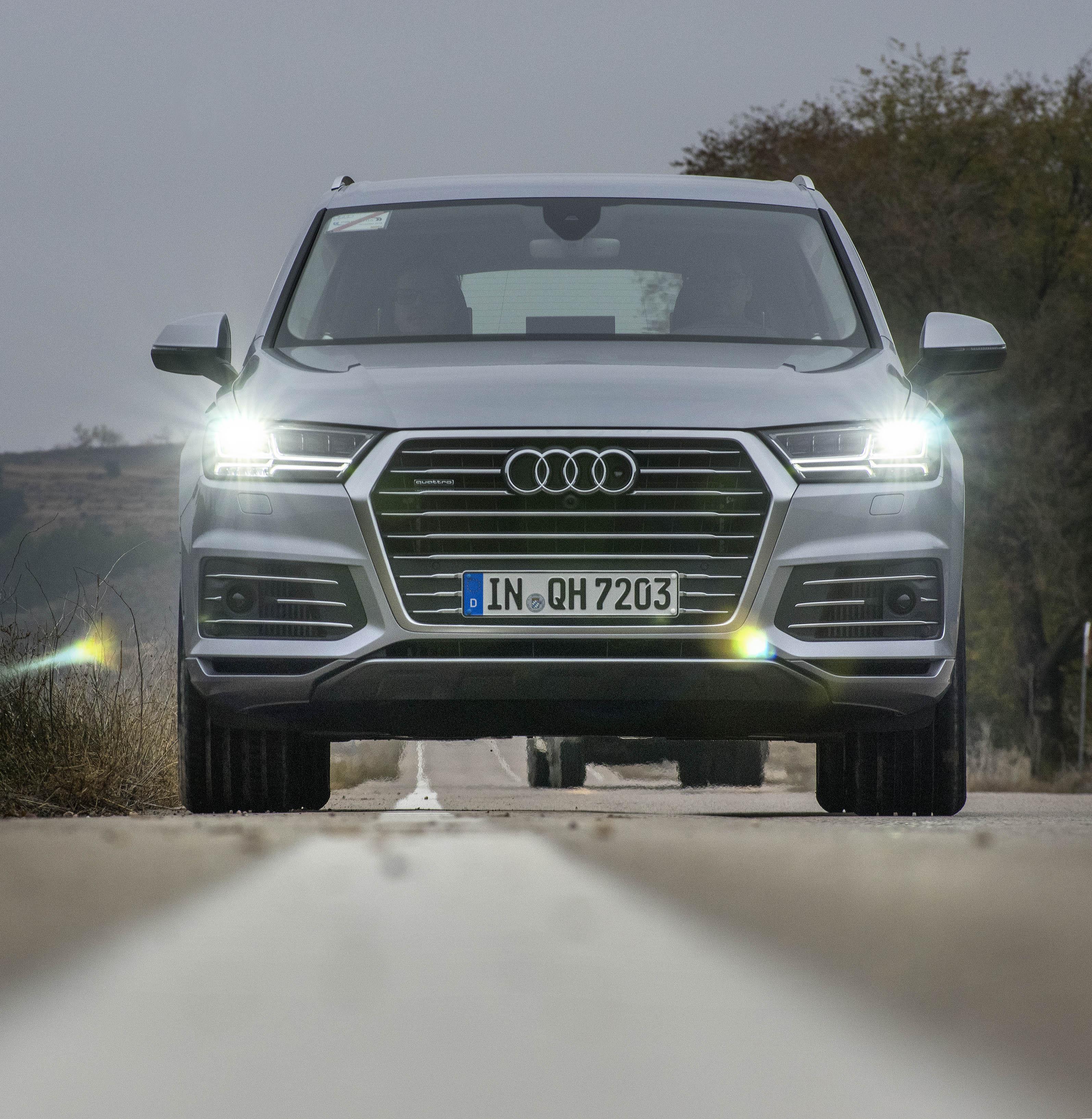 Audi Q7 e-tron Foto: Steafn Nilsson, ph: +46703399111 Copyright: Bildbyrån SYD, mail: bilder@mac.com