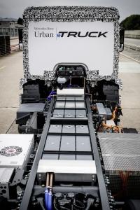 Mercedes-Benz Trucks; Urban eTruck; Elektro-Lkw; Weltpremiere; Elektromobilität; modulares Batteriekonzept; Verteilerverkehr ; Mercedes-Benz Trucks; Urban eTruck; Electro-Lkw; world premiere; electric mobility; modular battery concept; distribution;