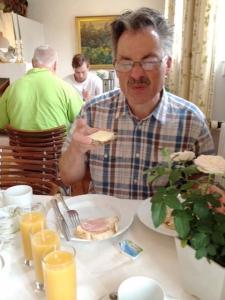 Frukost med dansk ost!