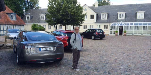 Framme på Hotel Knudsens Gaard Odense efter första dagen.