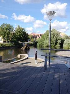 Härlig vy i Odense.