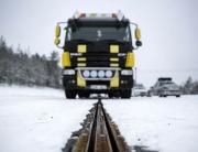 Elways , test med lastbil. Foto Erik Mårtensson