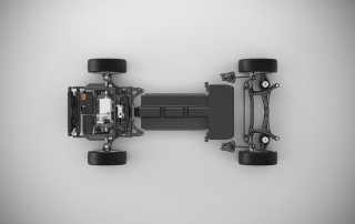 CMA Battery Electric Vehicle Technical Concept Study - Top view