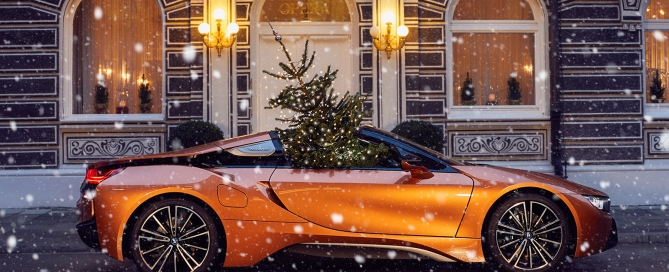 God Jul BMW