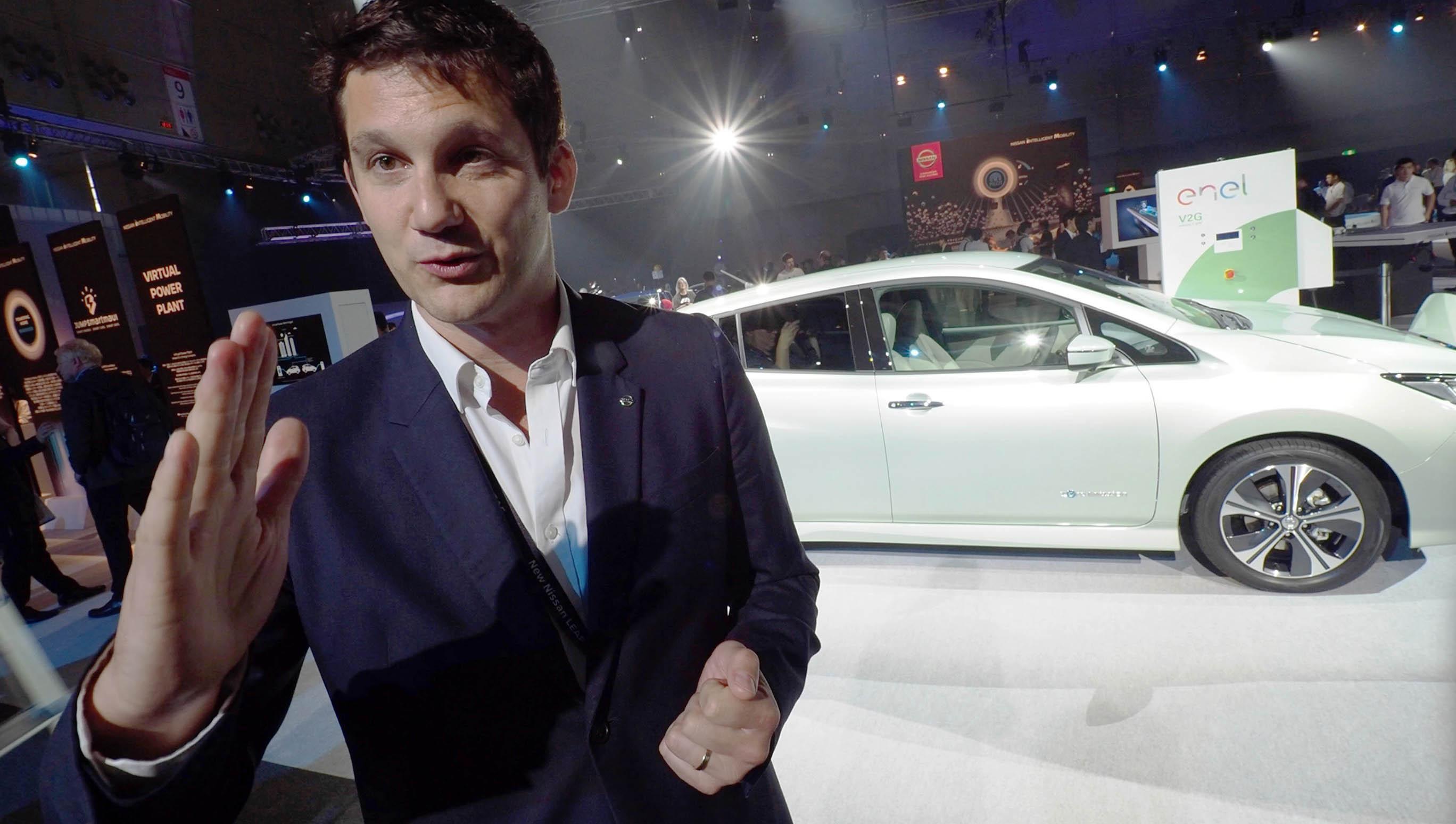 Gareth Dunsmore har högsta ansvaret för Nissans elbilar.