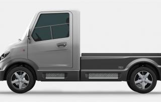 eldriven lätt lastbil