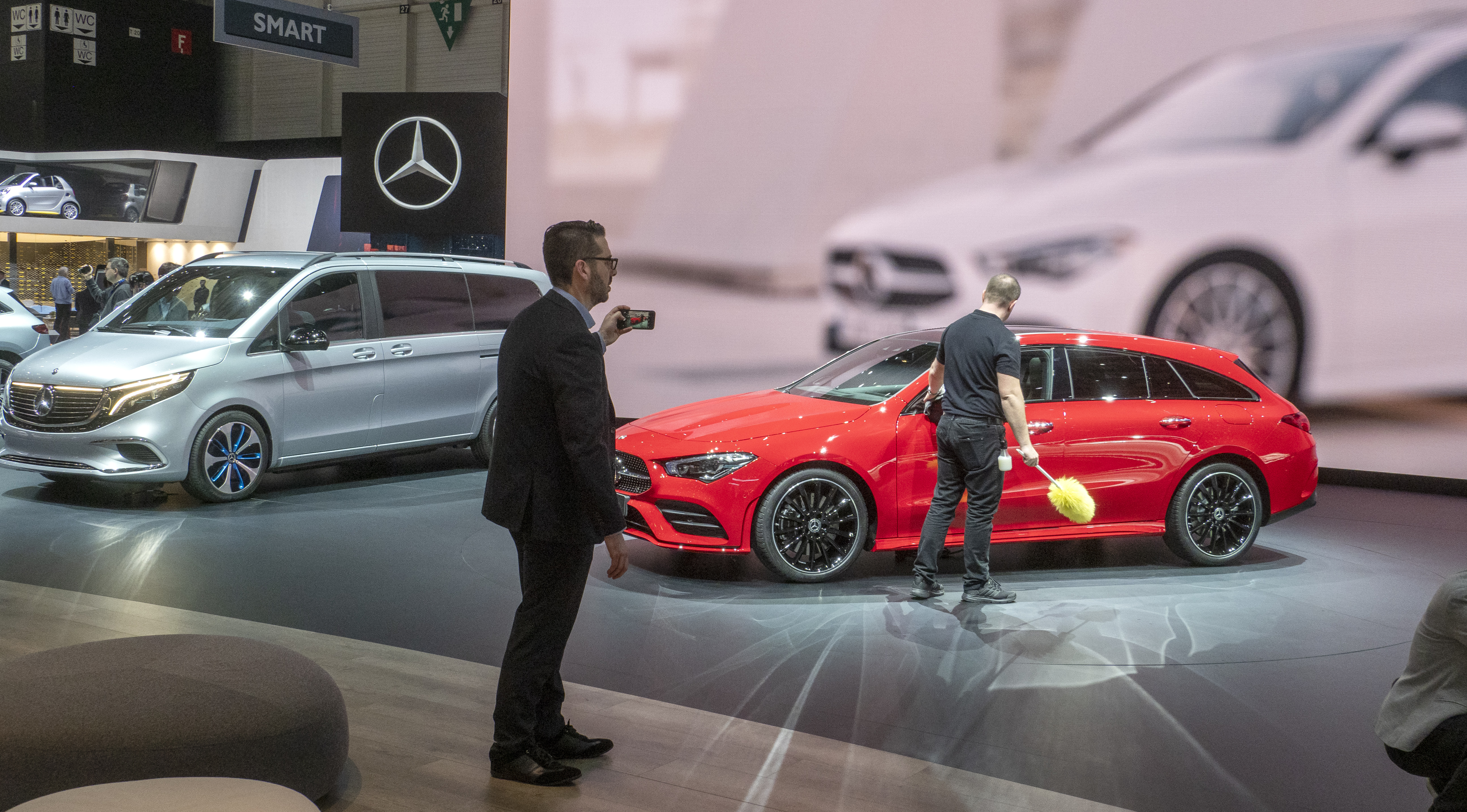 Mercedes EQV i Geneve