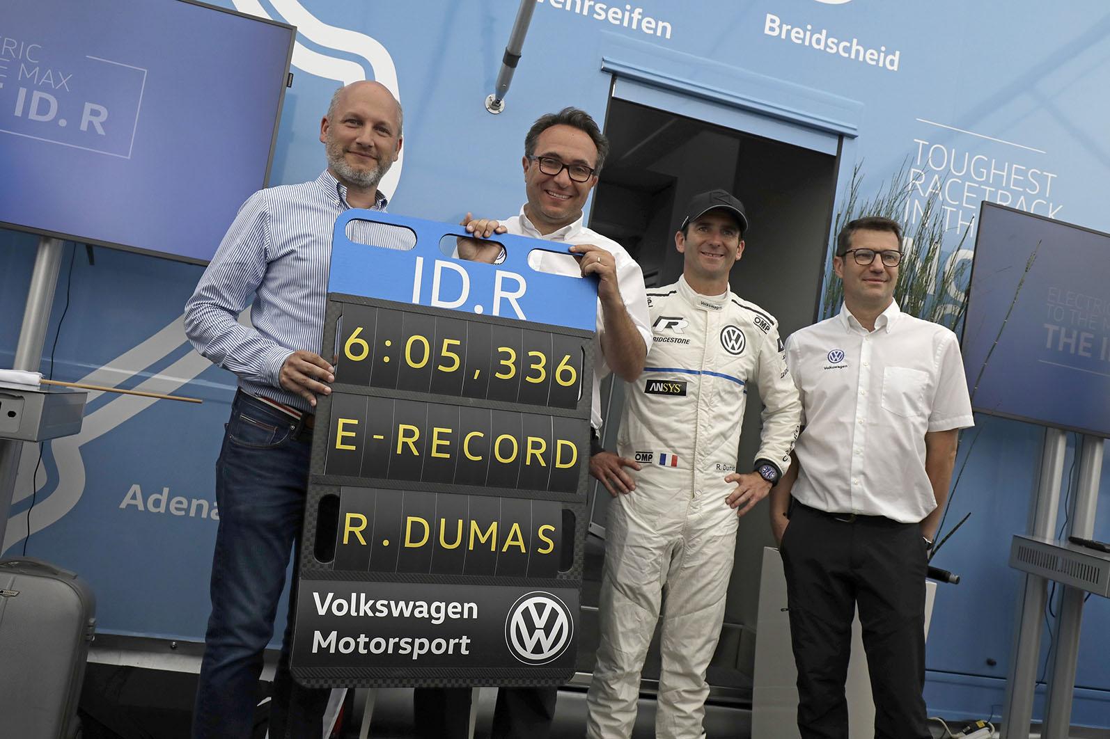Florian Urbitsch, Sven Smeets, Romain Dumas and Sven Smeets