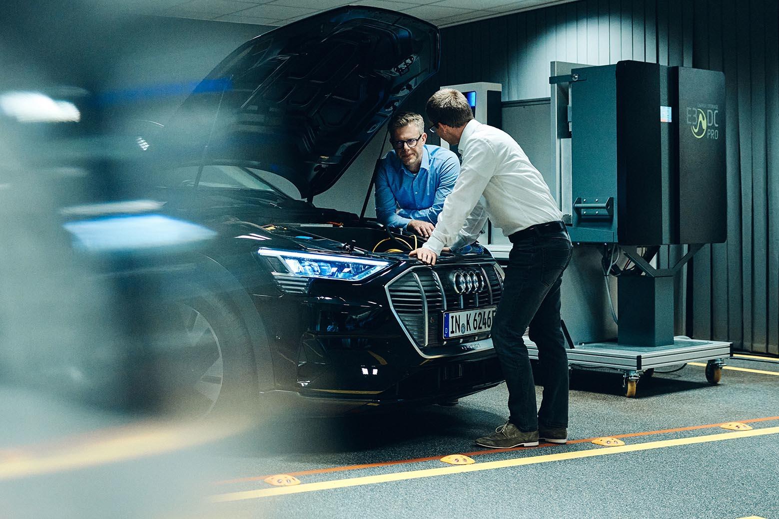 Audi is researching bidirectional charging technology