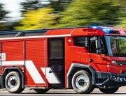 eldriven brandbil